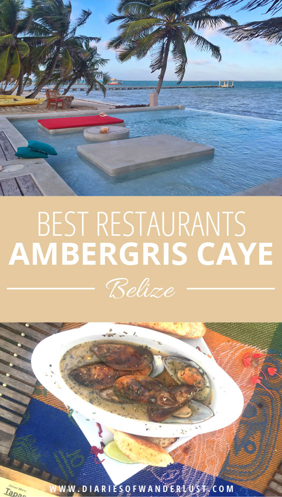 Where To Eat On Ambergris Caye Diaries Of Wanderlust